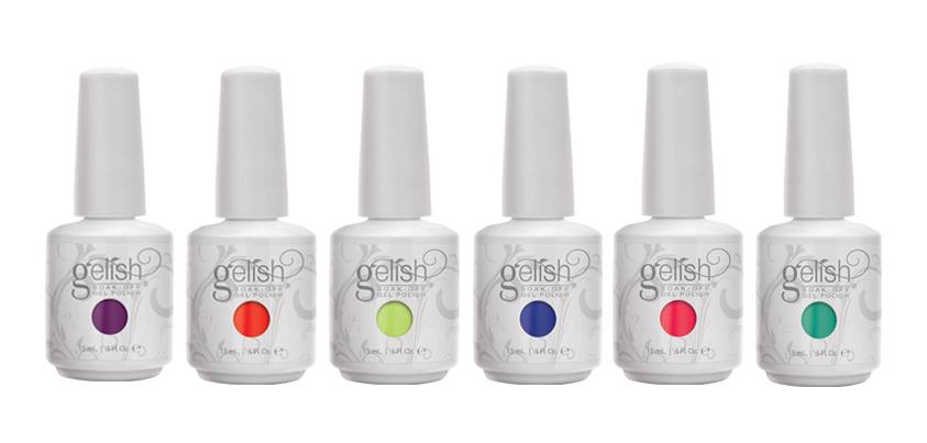 Gelish Feet